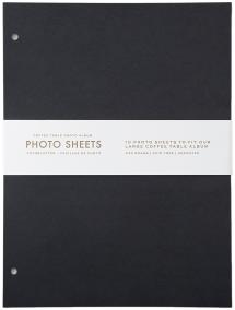 Refill Sheets - Coffee Table Photo Album 10 pcs (L)