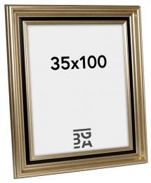 Gysinge Premium Billedramme Sølv 35x100 cm