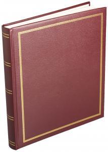 Diamant Album Selvklæbende Rød - 29x32 cm (40 sider)