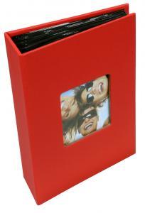 Fun Album rød - 100 Billeder i 10x15 cm