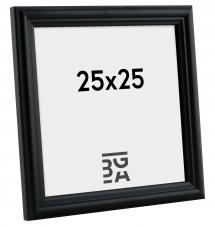 Siljan ramme Sort 8C 25x25 cm