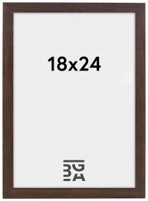 Stilren Billedramme Valnød 18x24 cm
