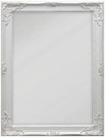 Spejl Antique Hvid 50x70 cm