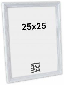 Abisko ramme Hvid PS288 25x25 cm