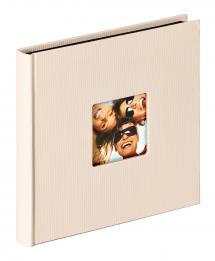 Fun Album Sand - 18x18 cm (30 Sorte sider / 15 blade)