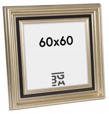 Gysinge Premium Billedramme Sølv 60x60 cm