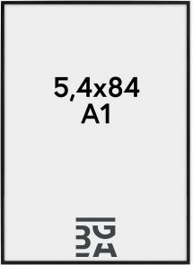 Nielsen Premium Alpha ramme Blank Sort 59,4x84 cm (A1)