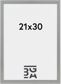 Slim Mat antirefleksglas Sølv 21x30 cm