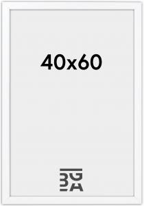 Stilren Billedramme Hvid 40x60 cm