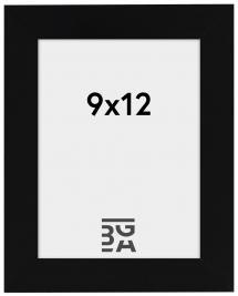 Amanda Box ramme Sort 9x12 cm