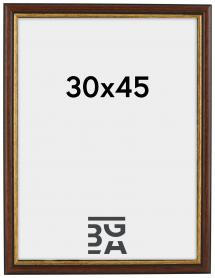 Siljan ramme Brun 8A 30x45 cm