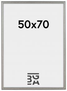 Frigg ramme Sølv 50x70 cm