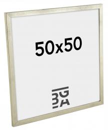Galant Billedramme Sølv 50x50 cm