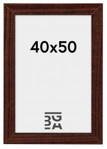 Home ramme Valnød 40x50 cm