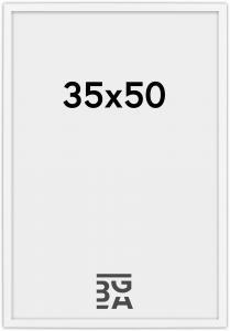 Edsbyn Fotoramme Hvid 2D 35x50 cm