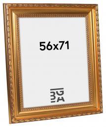 Birka Premium Billedramme Guld 56x71 cm