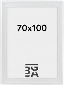 Mora Billedramme Premium Hvid 70x100 cm