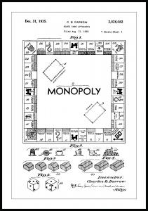 Patenttegning - Monopol I