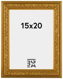 Nostalgia ramme Guld 15x20 cm