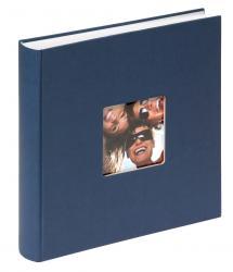 Fun Album Blå - 30x30 cm (100 Hvide sider / 50 blade)
