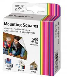 3L Mounting Squares 500 stk
