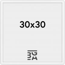 Edsbyn Fotoramme Hvid 2D 30x30 cm