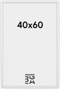 Edsbyn Fotoramme Hvid 2D 40x60 cm