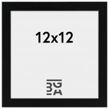 Edsbyn Fotoramme Sort 2E 12x12 cm