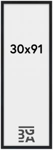 Stilren Plexiglas Sort 30x91 cm