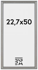 Frigg ramme Sølv 22,7x50 cm