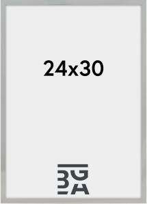 Nielsen Premium Alpha ramme Blank Sølv 24x30 cm