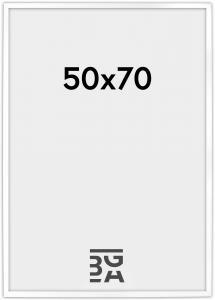 Stilren Billedramme Hvid 50x70 cm