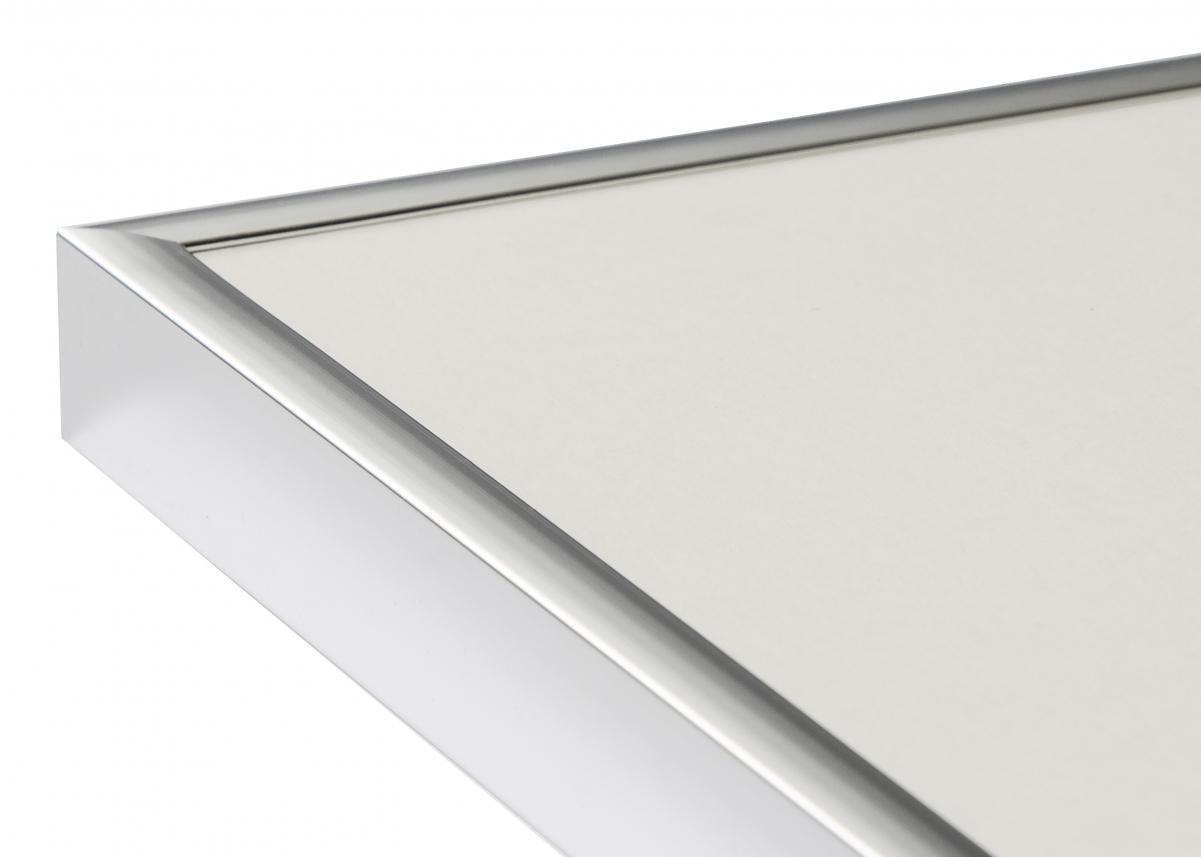 Poster Frame Aluminum Silver 40x50 cm